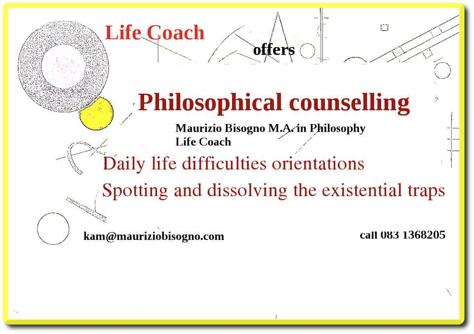 Philosophical Counselling