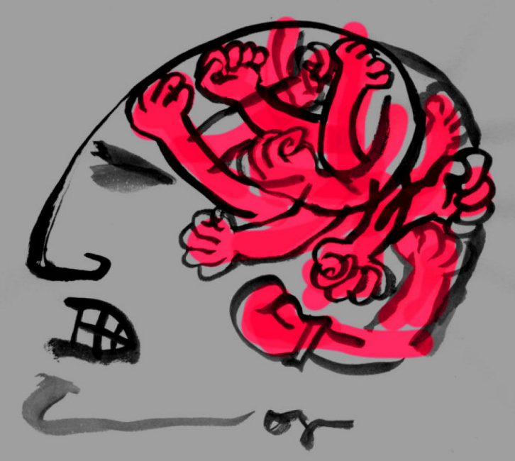 L'alterazione chimica del cervello