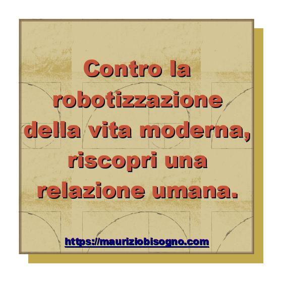 Contro la robotizzazione