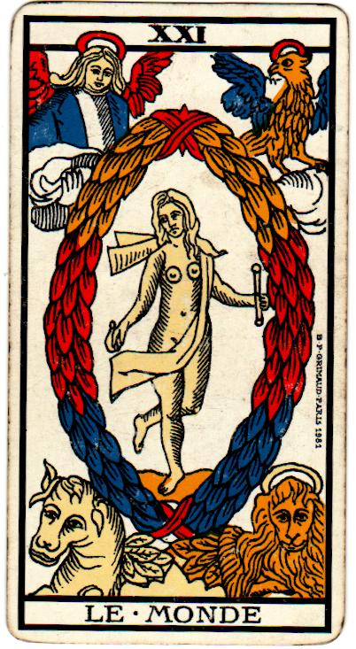 La carta XXI dei Tarocchi – Il Mondo e la chiusura del cerchio.